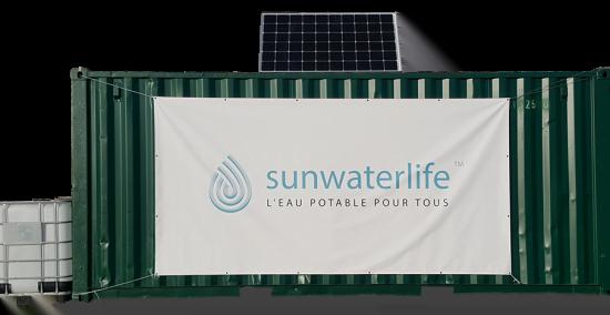 Aqualink Kiosk Conteneur de Sunwaterlife