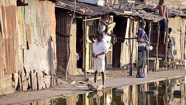 réduire les risques d'épidémie Afrique, Amérique du Sud, Asie