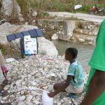 Valise Aqualink UF de Sunwaterlife en Haïti