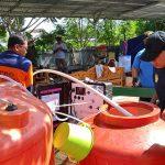 Pompiers purifiant de l'eau avec valise Aqualink UF de Sunwaterlife en Indonésie